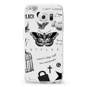 1D Harry Styles Tattoos Design Cases iPhone, iPod, Samsung Galaxy
