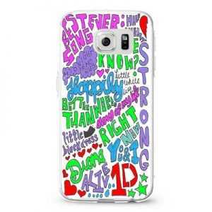 1D Midnight Memories Collage Lyrics 22 Design Cases iPhone, iPod, Samsung Galaxy