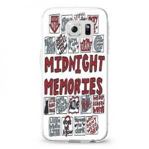 1D Midnight Memories Collage Lyrics Design Cases iPhone, iPod, Samsung Galaxy