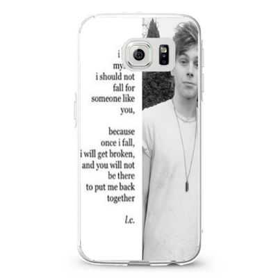 5 Seconds Of Summer 5 Sos Luke Hemmings Collage Quote Design Cases iPhone, iPod, Samsung Galaxy