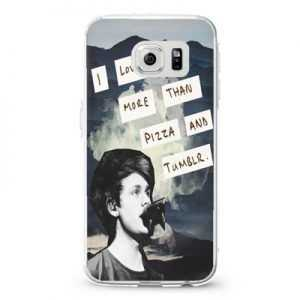 5 Seconds Of Summer 5 Sos Michael Clifford 4 Collage Quote Design Cases iPhone, iPod, Samsung Galaxy