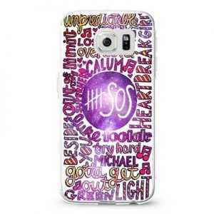 5 second of summer 5 SOS collage galaxy nebula Design Cases iPhone, iPod, Samsung Galaxy