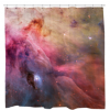 Abstract Art Orion NebulaShower Curtain