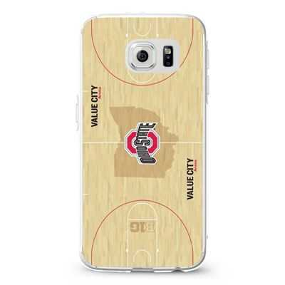 Basket Ball Wood Ohio State Design Cases iPhone, iPod, Samsung Galaxy