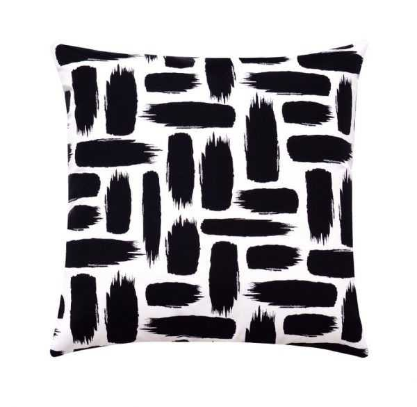 Brush Stroke Accent Pillow Case