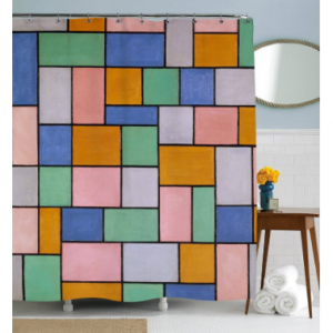 Colorful Tiles Shower Curtain