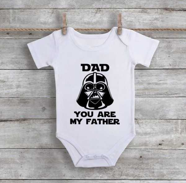 Dad You Are My Father Baby Onesie