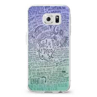 Design Panic At The Disco Lyric Quotes Design Cases iPhone, iPod, Samsung Galaxy