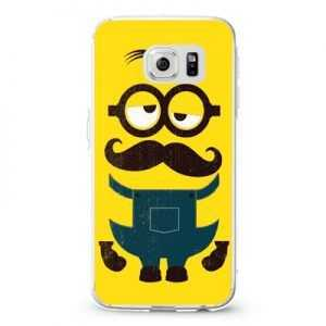 Despicable Me Minion Yellow Mustache Design Cases iPhone, iPod, Samsung Galaxy