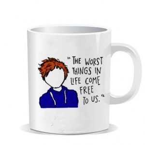 Ed Sheeran Lyric Ceramic Mug