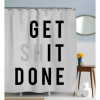 Get it Done Shower Curtain