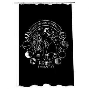Halsey Art Shower Curtain