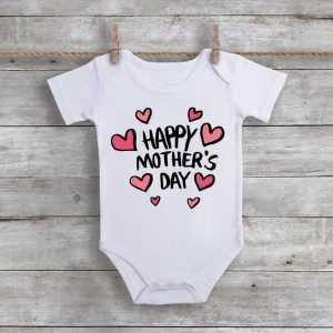 Happy Mother's Day Baby Onesie
