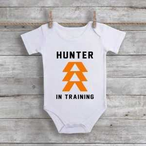 Hunter In Training Baby Onesie