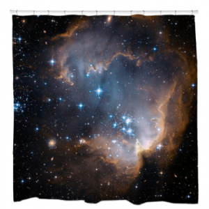 Infant Stars Shower Curtain