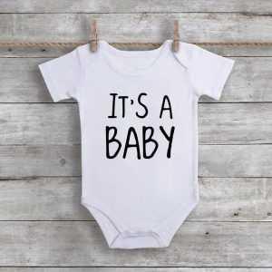 It's A BabyBaby Onesie