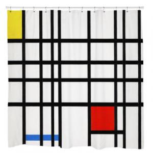 Line ArtShower Curtain