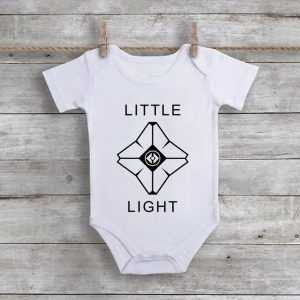 Little Light Destiny Ghost Baby Onesie