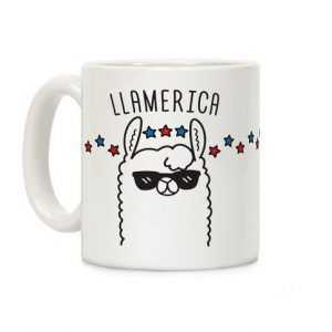 Llamerica the beautiful! Ceramic Mug