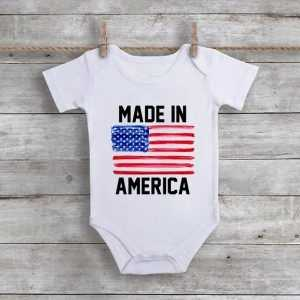 Made In America Baby Onesie