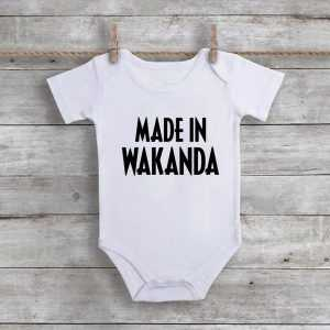 Made in Wakanda Baby Onesie