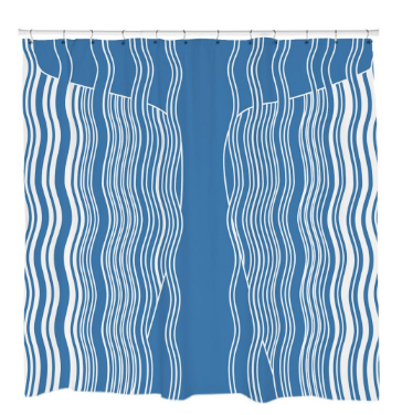 Moby WhaleShower Curtain