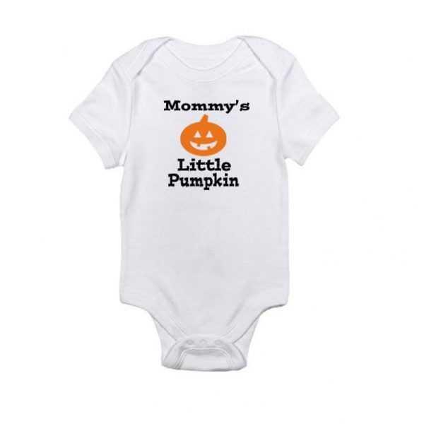 Mommy's Little Pumpkin - HalloweenBaby Onesie
