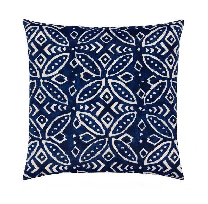 Navy Blue Throw Pillow Case