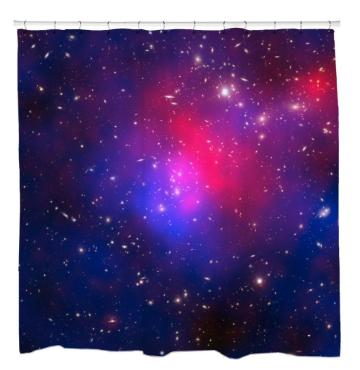 Pandora's Cluster Shower Curtain