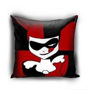 Personalized Harley Quinn Batman Joker Cute Face Pillow case
