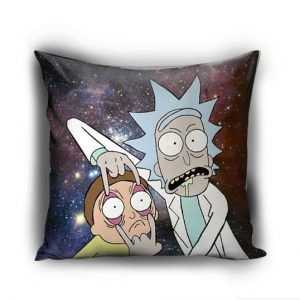 Rick and Morty galaxyPillow Case