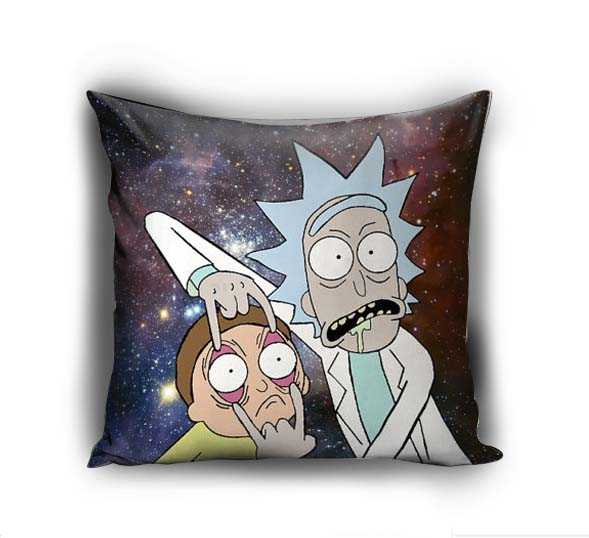 Rick and Morty galaxy Pillow Case