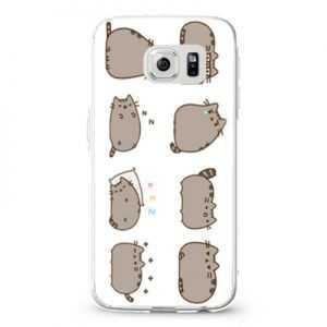 Pusheen The Cat Emoticon Design Cases iPhone, iPod, Samsung Galaxy