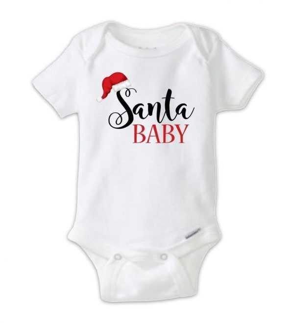 Santa BabyBaby Onesie