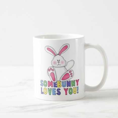 SomeBunny Loves You Ceramic Mug
