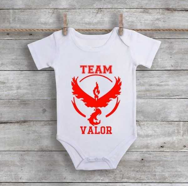 Team Valor Baby Onesie