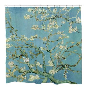 Van GoghShower Curtain
