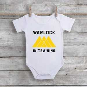Warlock In Training Baby Onesie