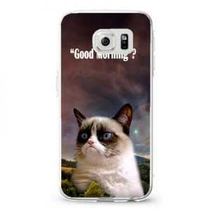 Grumpy cat good morning Design Cases iPhone, iPod, Samsung Galaxy