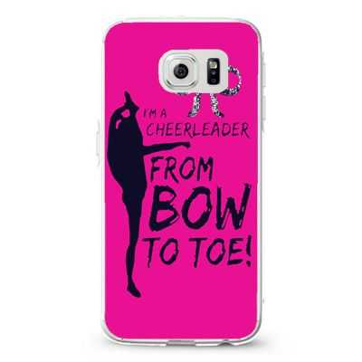 i'm a cheerleader from bow to toe1 Design Cases iPhone, iPod, Samsung Galaxy