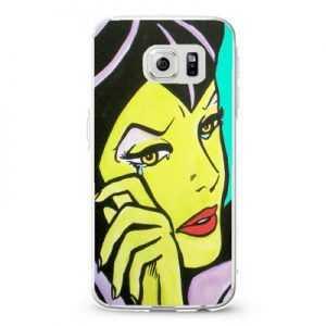 Villains maleficent comic blue sk_4 Design Cases iPhone, iPod, Samsung Galaxy