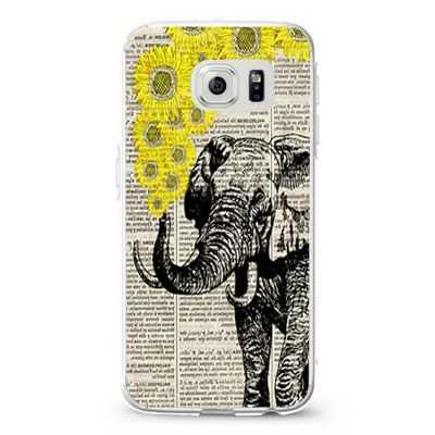 Elephant with sunflowers Design Cases iPhone, iPod, Samsung Galaxy