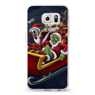Jack Skelington and the grinch stole christmas Design Cases iPhone, iPod, Samsung Galaxy