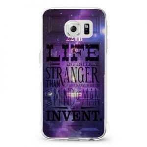 Life is Infinitely Stranger on Behance Design Cases iPhone, iPod, Samsung Galaxy