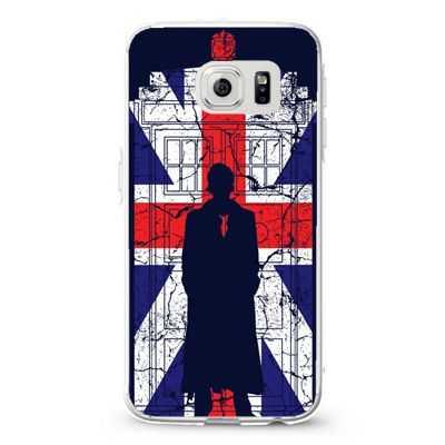 Tardis Union Jack David Tennant Design Cases iPhone, iPod, Samsung Galaxy