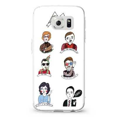 Twin Peaks Characters Design Cases iPhone, iPod, Samsung Galaxy