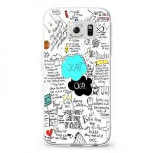 Typography design john green the fault in our stars Design Cases iPhone, iPod, Samsung Galaxy