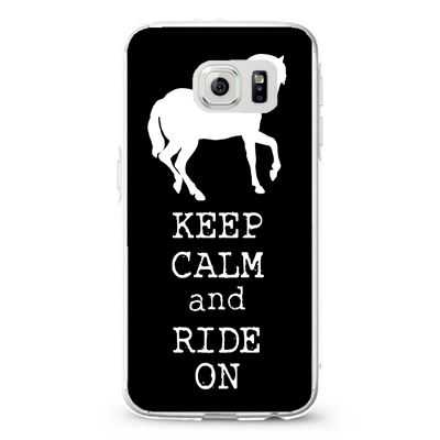 Keep calm and ride on2 Design Cases iPhone, iPod, Samsung Galaxy