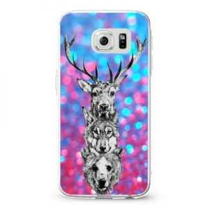 Triangel deer wolf bear_4 Design Cases iPhone, iPod, Samsung Galaxy