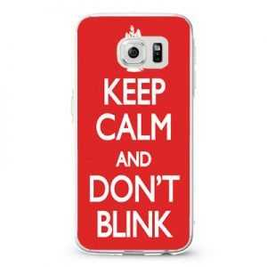 Doctor Who Keep Calm Don't Blink Design Cases iPhone, iPod, Samsung Galaxy